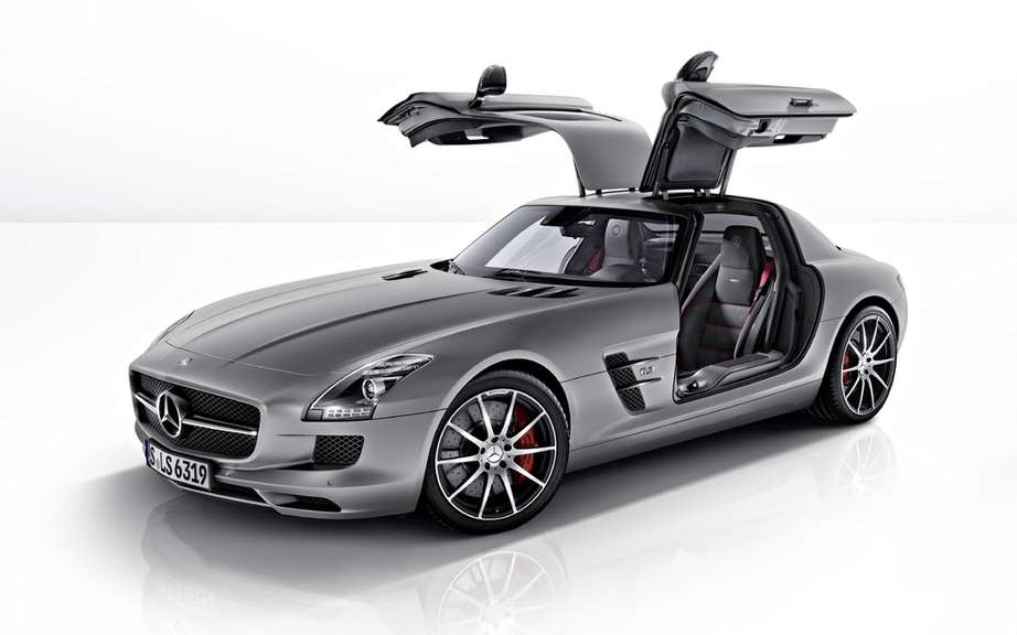 Mercedes-Benz SLS AMG GT: new version more VITAMINEE