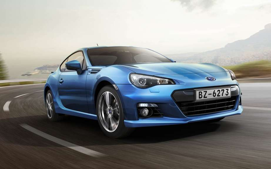 Subaru BRZ 2013: it ignites the weekend of the Grand Prix of Montreal