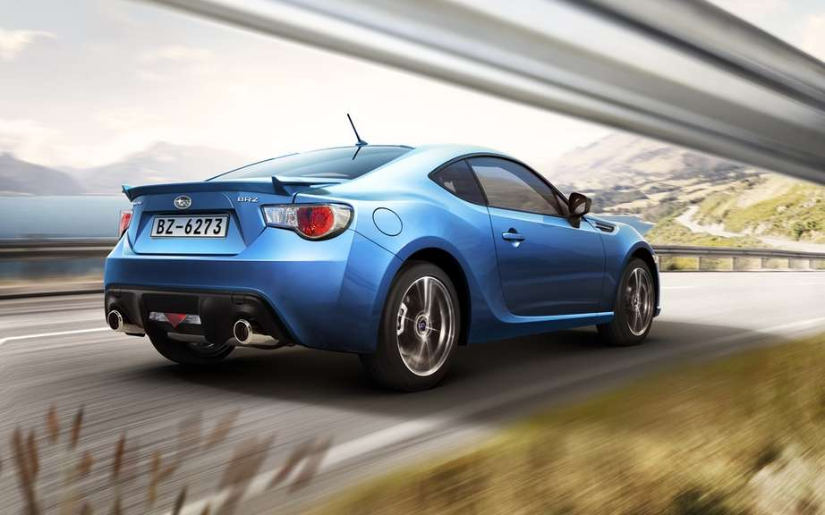 Subaru BRZ 2013: it ignites the weekend of the Grand Prix of Montreal picture #2