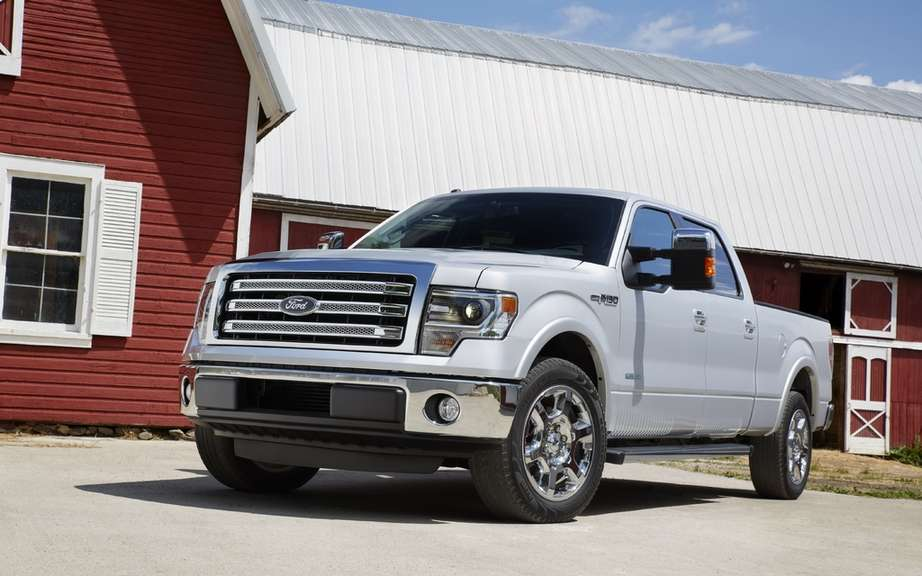 Ford F-150 2013: more generous picture #4
