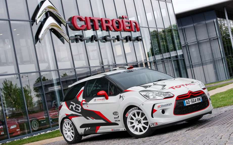 Citroen DS3 R3: the 100th unit produced