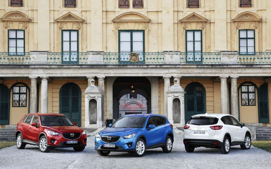 Mazda CX-5: he clinched 5 star Euro NCAP picture #1