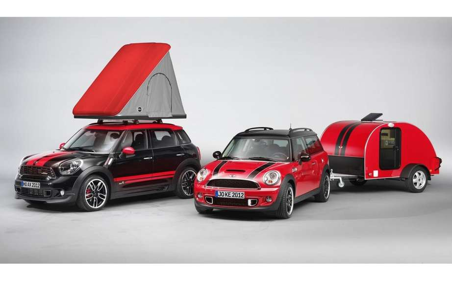 Mini Cowley Caravan and Swindon Roof Top tent picture #2