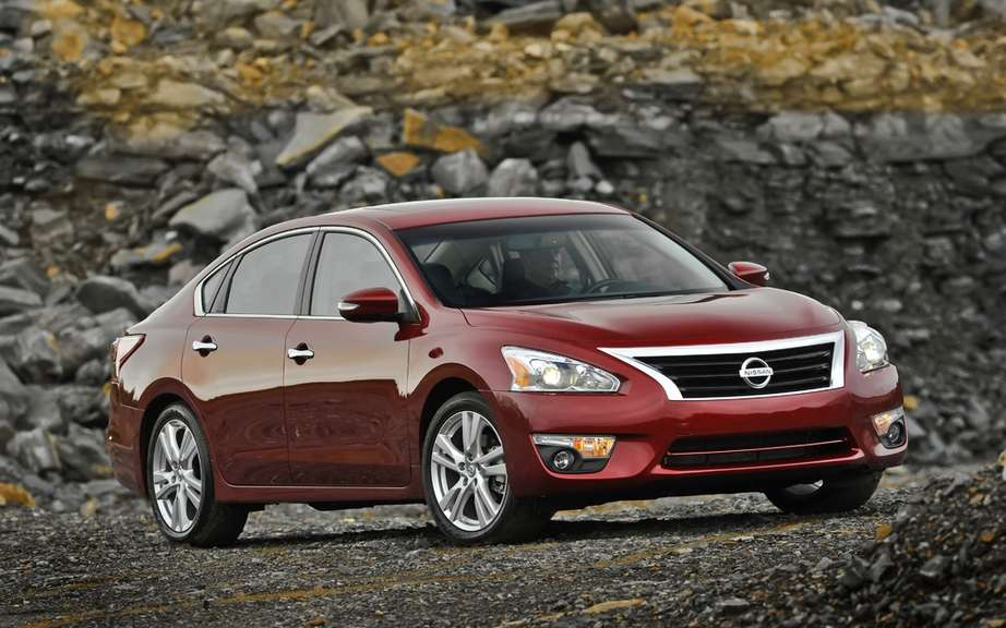The all-new Nissan Altima started his cross-Canada tour to celebrate innovation