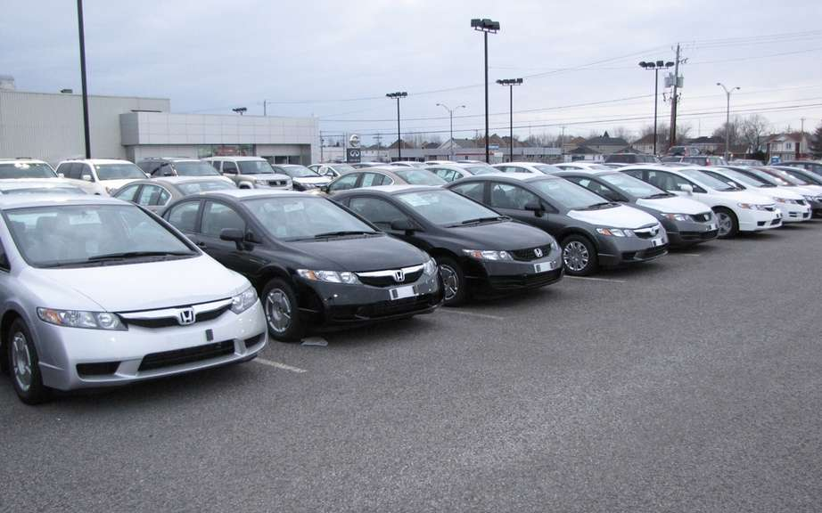 The 10 best-selling cars in Canada in April 2012