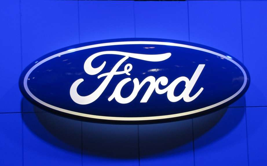 Ford recovered its oval logo