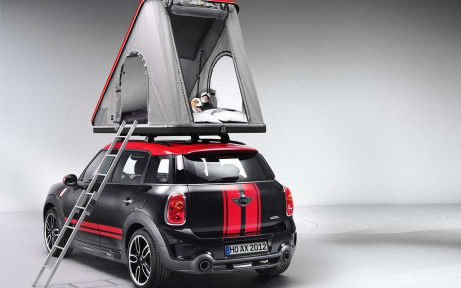 Mini Cowley Caravan and Swindon Roof Top tent picture #9
