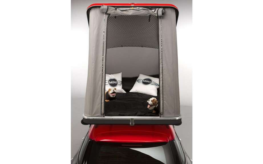 Mini Cowley Caravan and Swindon Roof Top tent picture #10