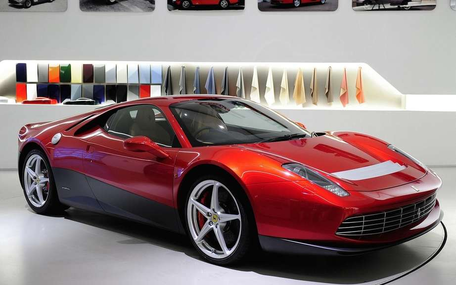 Ferrari SP12 EC: the only car in the world Eric Clapton picture #1