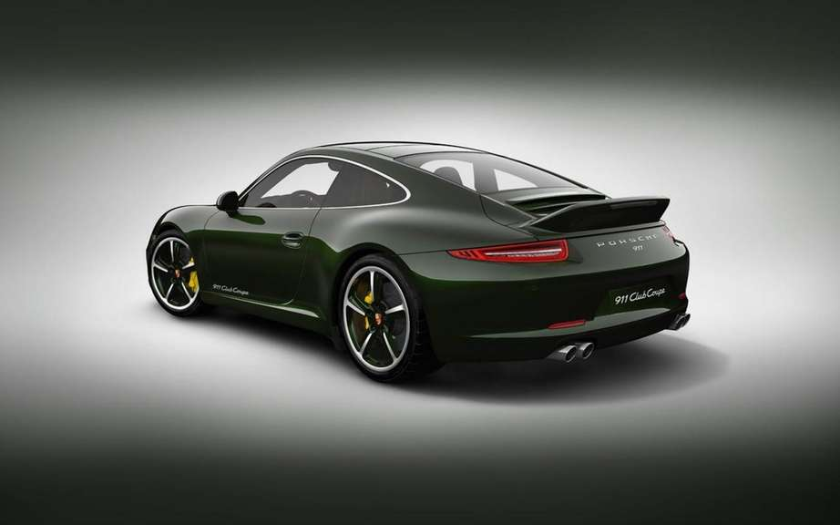 Porsche 911 Club Coupe: reserved for Porsche Club members picture #2