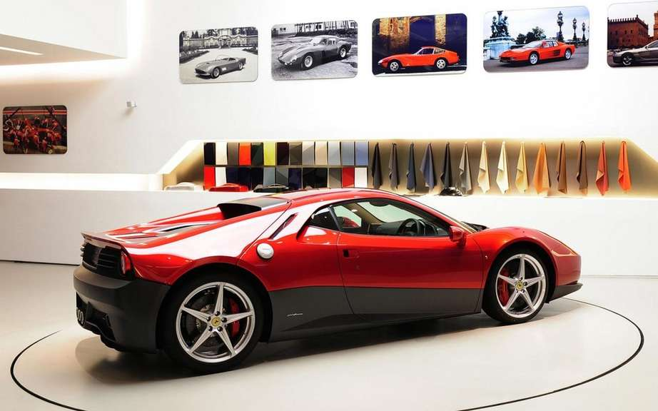 Ferrari SP12 EC: the only car in the world Eric Clapton picture #2