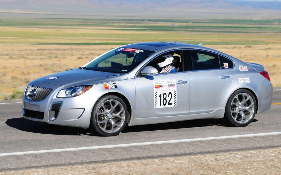 Buick Regal GS: a second participation in the Nevada Open Road Challenge