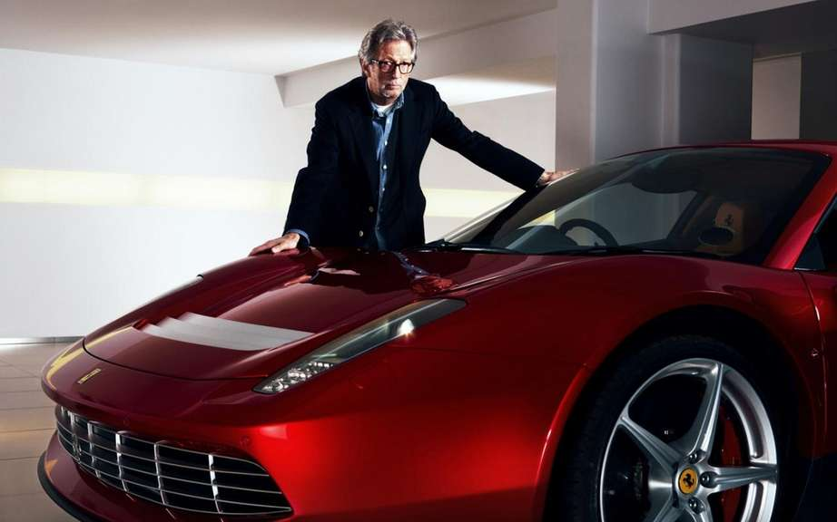 Ferrari SP12 EC: the only car in the world Eric Clapton picture #3
