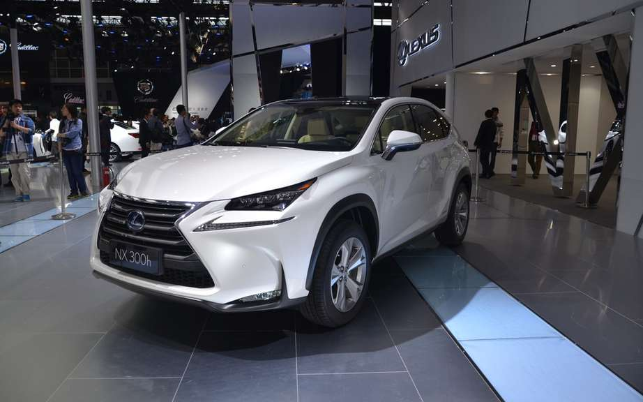 Lexus RX 2013: the most popular in Canada