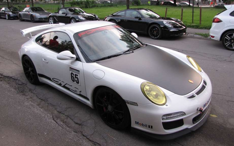 Porsche 911 GT3 Cup: visit to Montreal picture #20