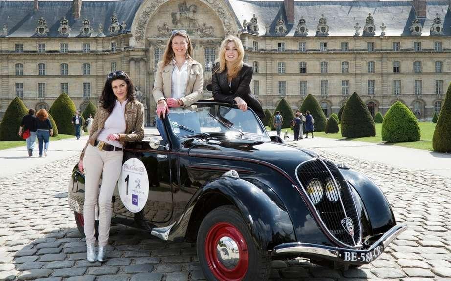 Peugeot, official partner of the 13th Rallye des Princesses: the 200 series has the honor picture #1