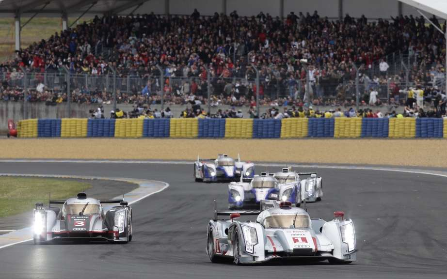 24 Hours of Le Mans: The point was halfway