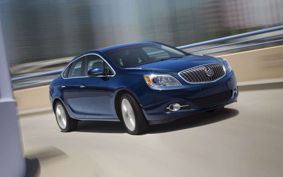 Buick Verano Turbo 2013: a luxury sport sedan 250 hp