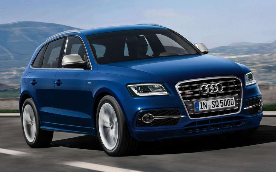 Audi SQ5 TDI: unveiled at Le Mans 24 Hours