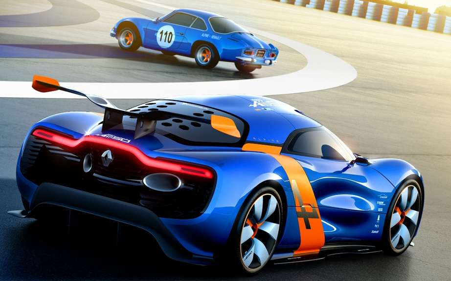 Renault Alpine A110-50 Concept: unveiled in Monaco picture #8