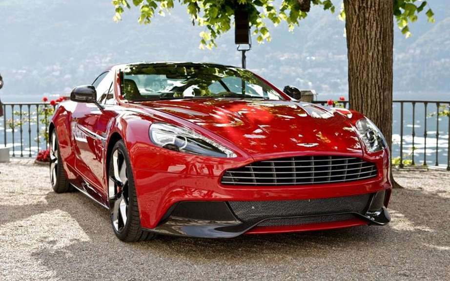 Aston Martin Vanquish 2013: return to a certain nobility picture #1