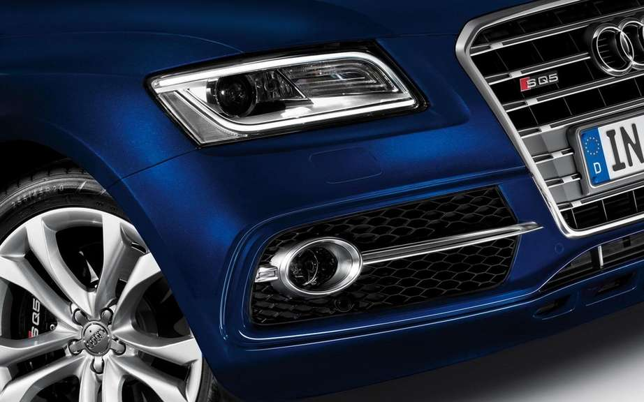 Audi SQ5 TDI: unveiled at Le Mans 24 Hours picture #3