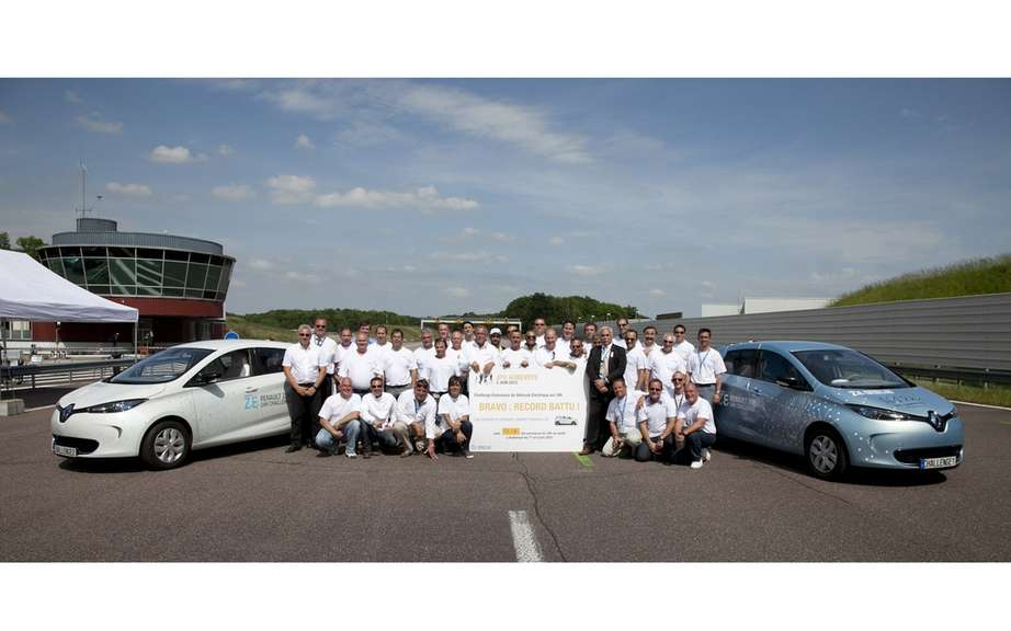 1618 km 24h: world record for ZOE