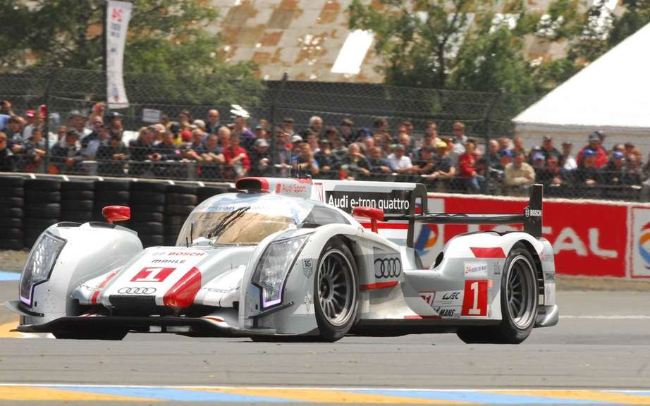 Audi hybrid technology to triumph at the 24 Hours of Le Mans