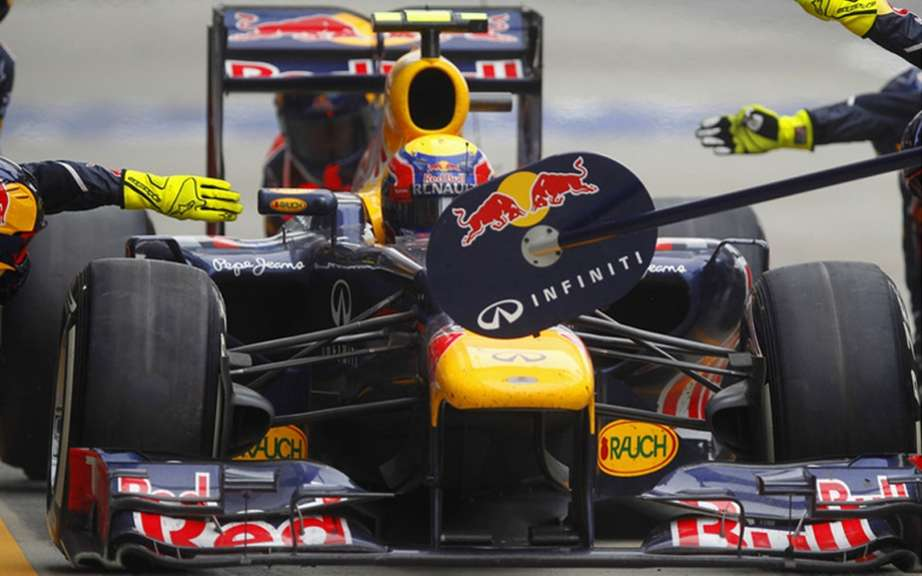 Infiniti organize a national tour for the MC Formula 1 Red Bull