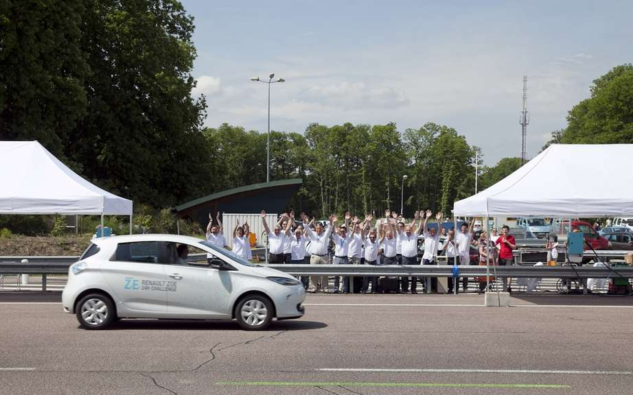 1618 km 24h: world record for ZOE picture #2