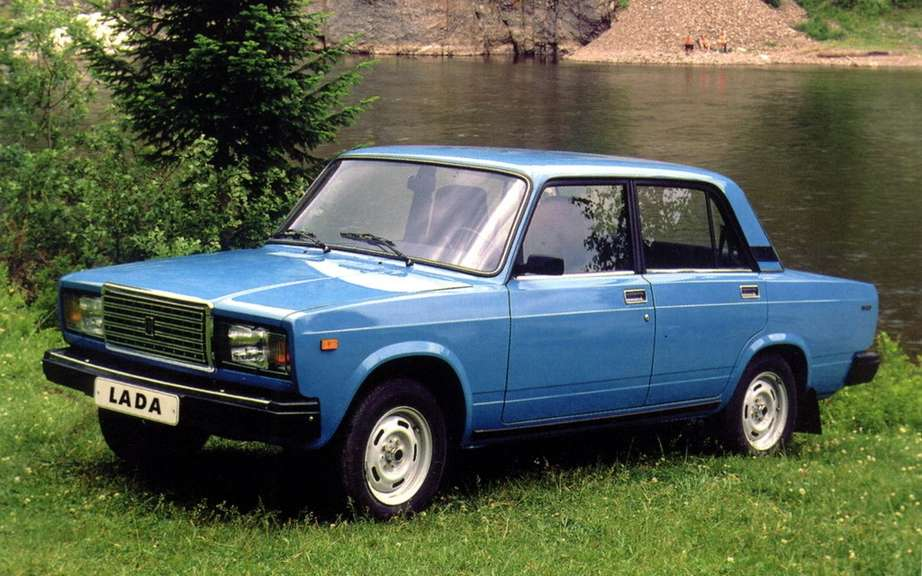 Lada 2107: a legend which disappears