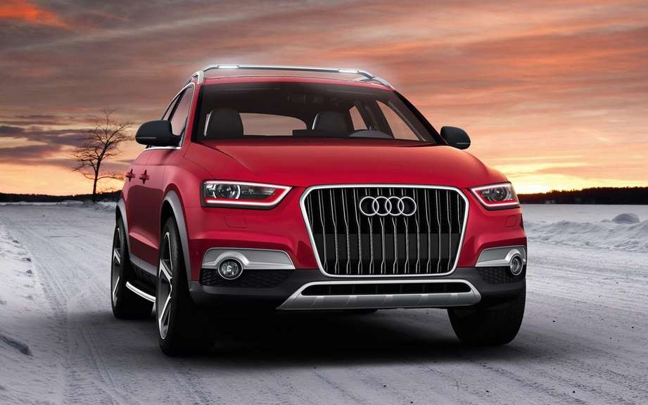 Audi Q3 Red Track: Star Worthersee Tour 2012