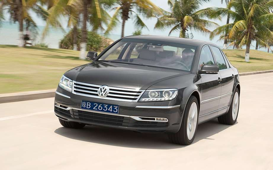 Volkswagen Phaeton: saved by China