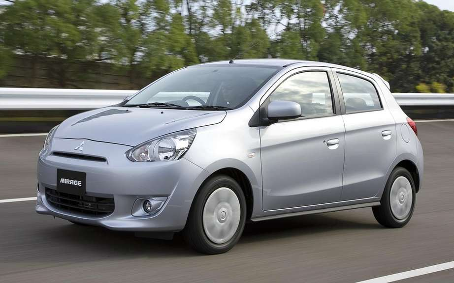 Mitsubishi Mirage in America: the decision to be taken by the Americans picture #1