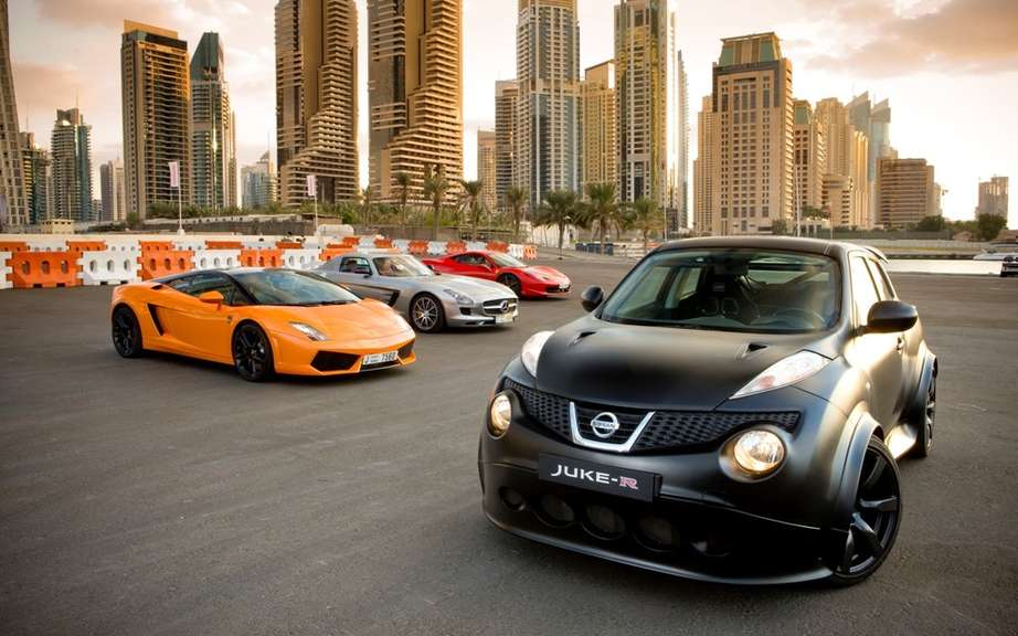 Nissan Juke R: we are talking about small production series