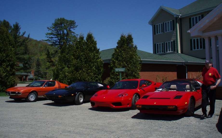 Italian rally in the Laurentians Saturday, May 19, 2012