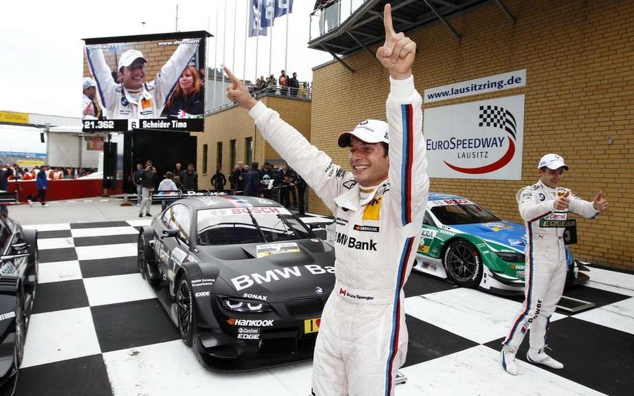 Bruno Spengler is BMW DTM triumph!