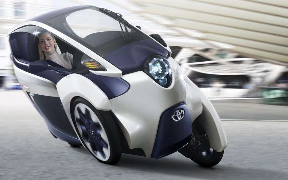 Road tests for the Toyota i-Road