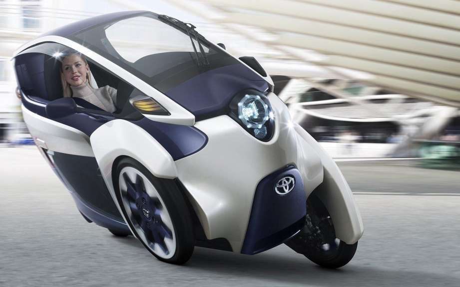 Road tests for the Toyota i-Road picture #2