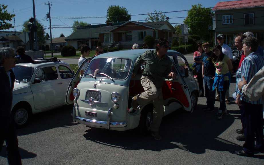 Italian rally in the Laurentians Saturday, May 19, 2012 picture #4