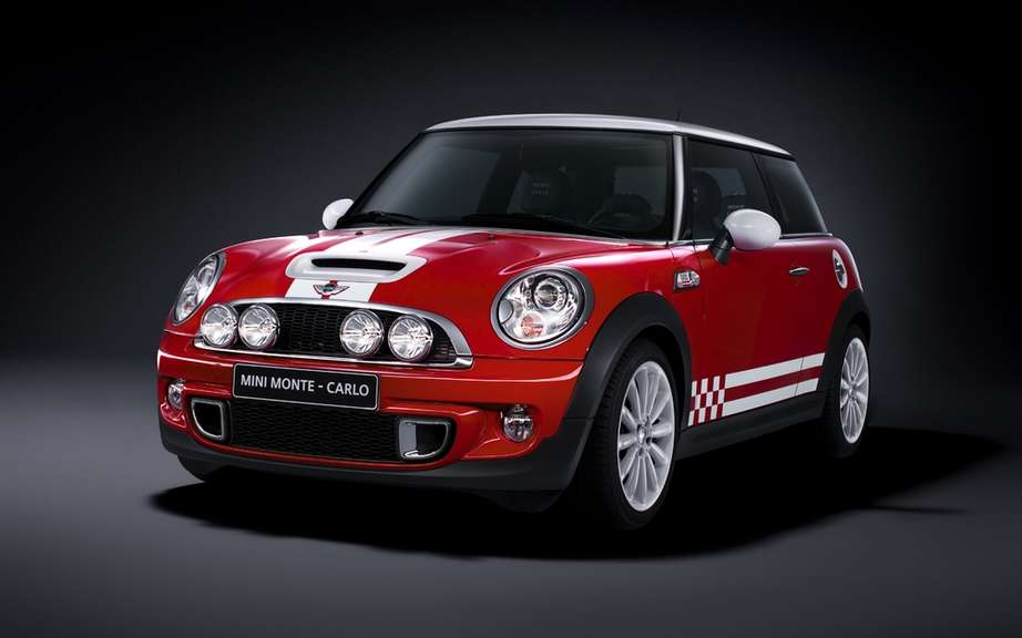 Mini Monte Carlo limited edition on European markets