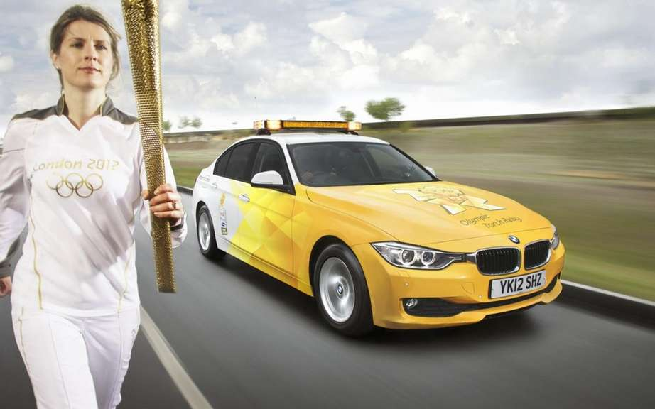 BMW presents its fleet of official vehicles for 2012 Olympics