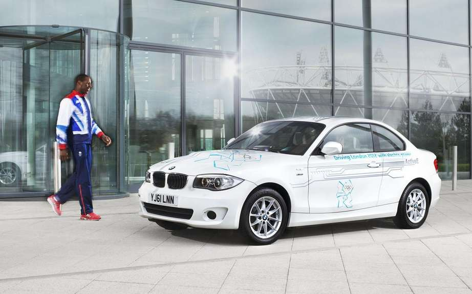 BMW presents its fleet of official vehicles for 2012 Olympics picture #2
