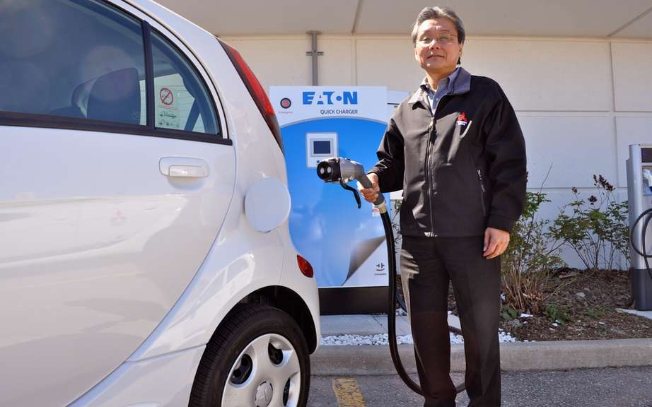 Mitsubishi introduced the load in less than 30 minutes for its i-MiEV