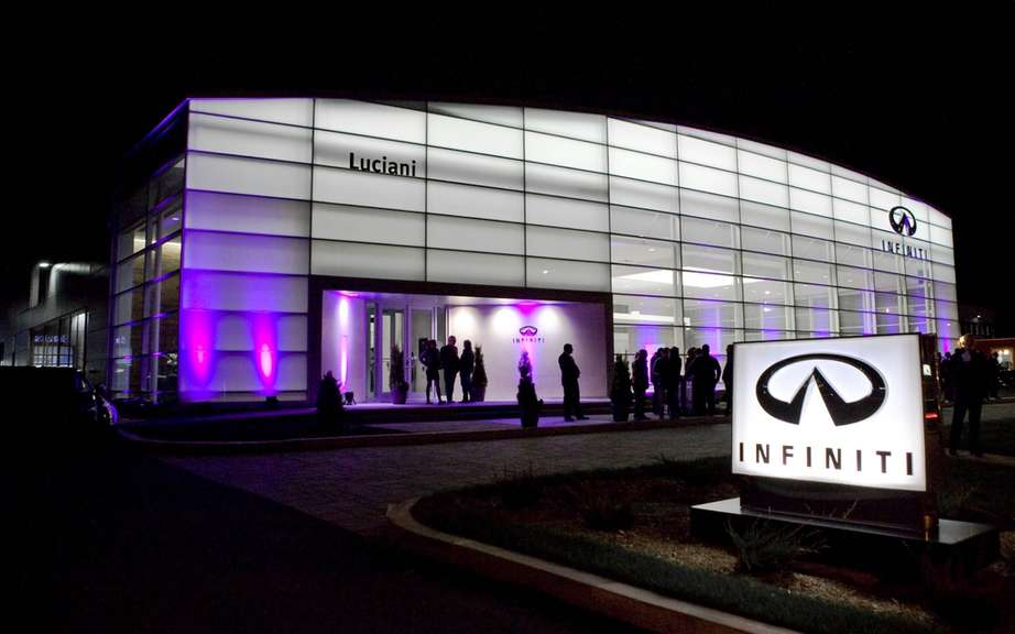 Infiniti Canada and Luciani Automobile inaugurate the largest dealer in North America