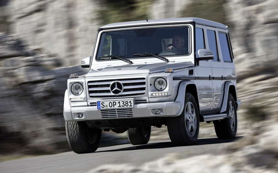 Mercedes-Benz presents its model Class G restyle