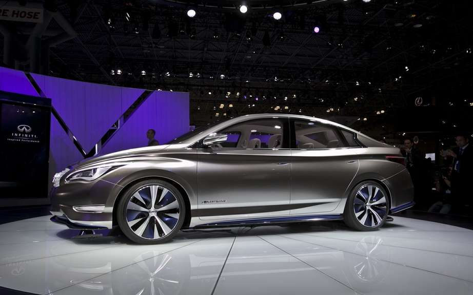 Infiniti concept, luxury electric