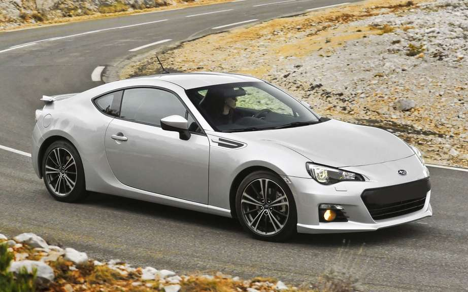 Subaru BRZ 2013: from $ 27,295 in the Canadian market