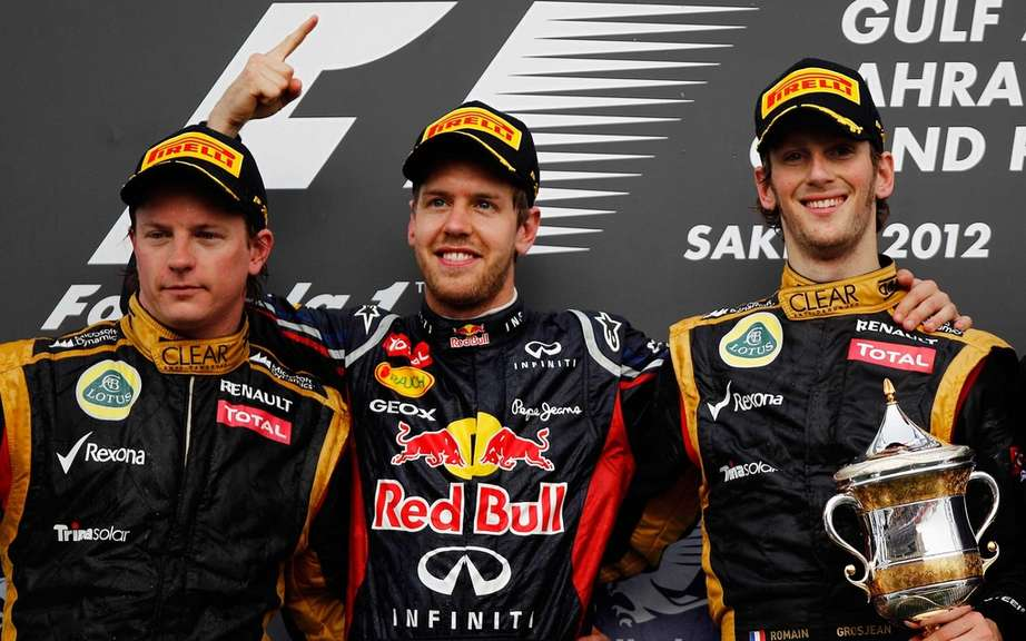 Sebastian Vettel returns to the success at the Bahrain GP