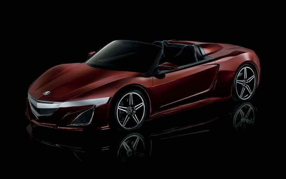Acura NSX Roadster: reserve in cinema?